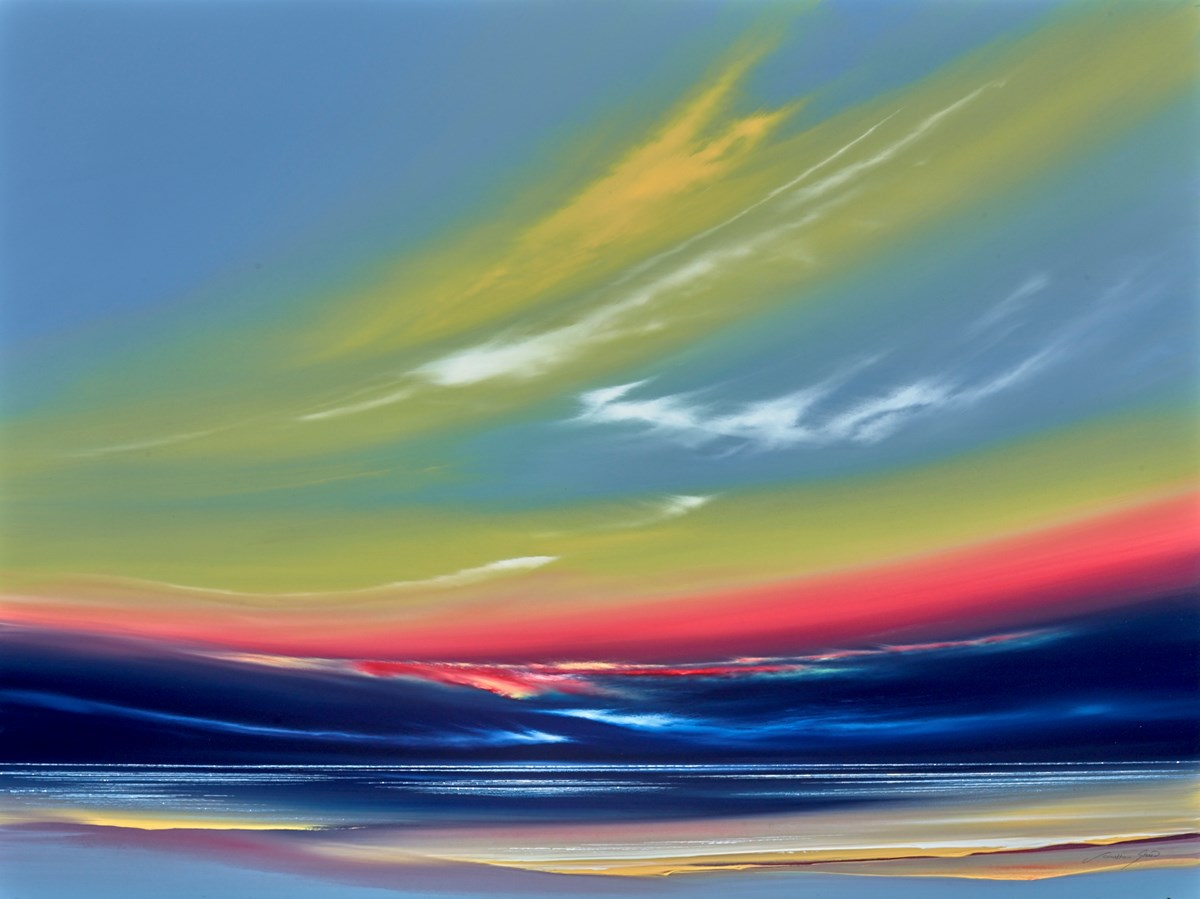Twilight Sky I by jonathan shaw -  sized 40x30 inches. Available from Whitewall Galleries